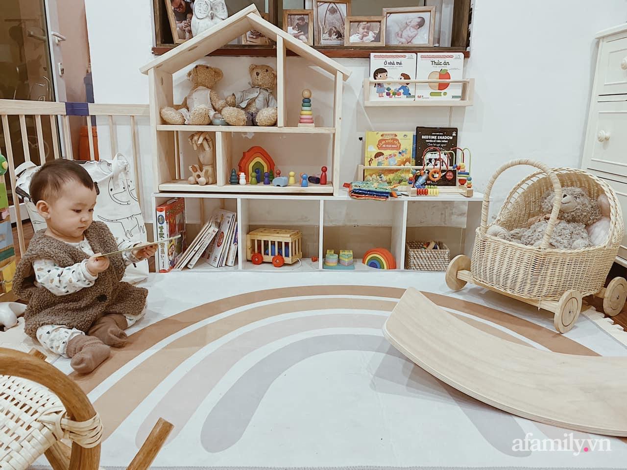 Không gian mẹ trang trí tặng bé ấn tượng với sắc màu Vintage ở Hà Nội - Ảnh 1.