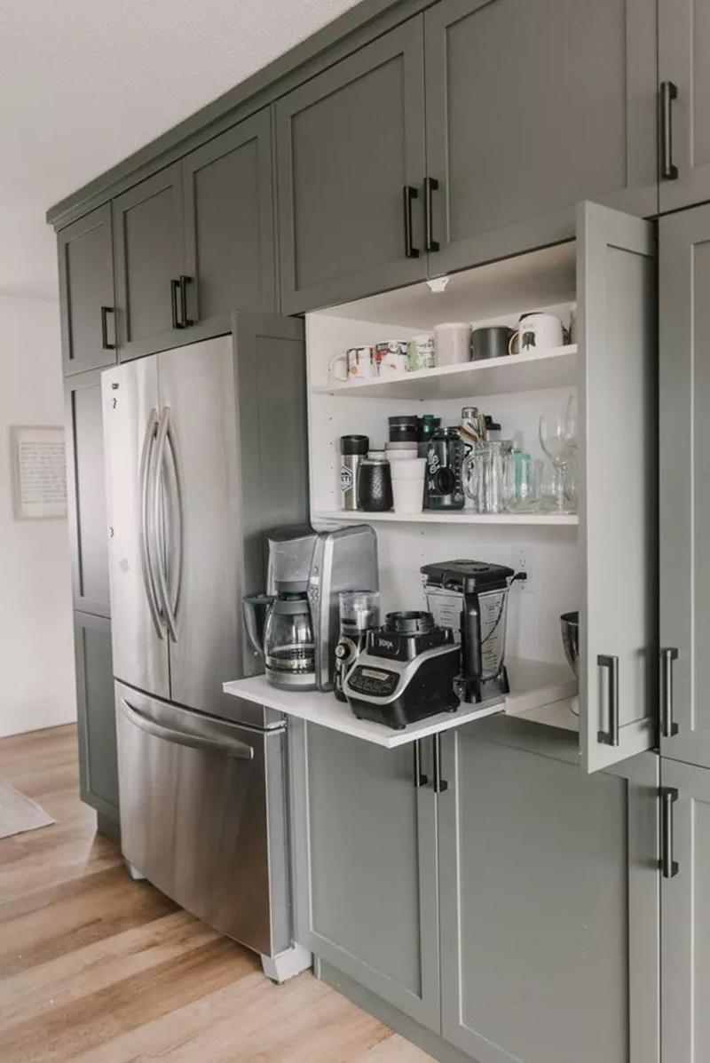 """11 bước """"kinh điển"""" để sắp xếp những ngăn tủ bếp hoàn hảo chẳng còn chỗ chê - Ảnh 2."""