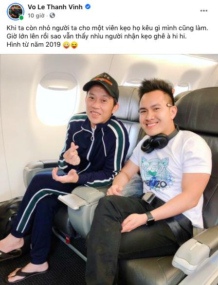 Con trai Hoài Linh lên tiếng trước thông tin bí mật đưa bố ở Mỹ  - Ảnh 1.