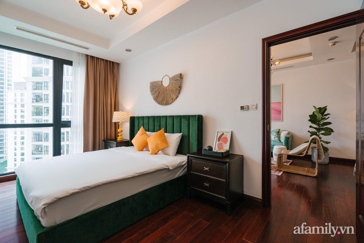 Căn hộ 115m2 đẹp ngọt ngào với sắc màu lãng mạn mùa thu ở Royal City Hà Nội - Ảnh 12.