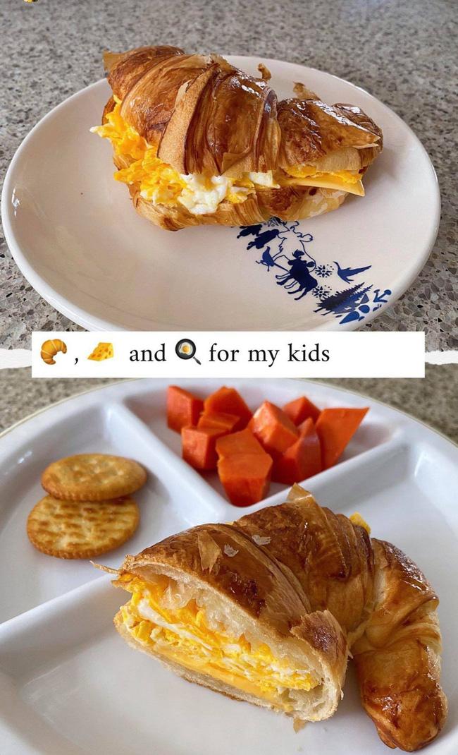Tăng Thanh Hà khoe bữa sáng do con trai tự làm, thông minh còn chăm chỉ thế này bảo sao ai cũng yêu!  - Ảnh 3.