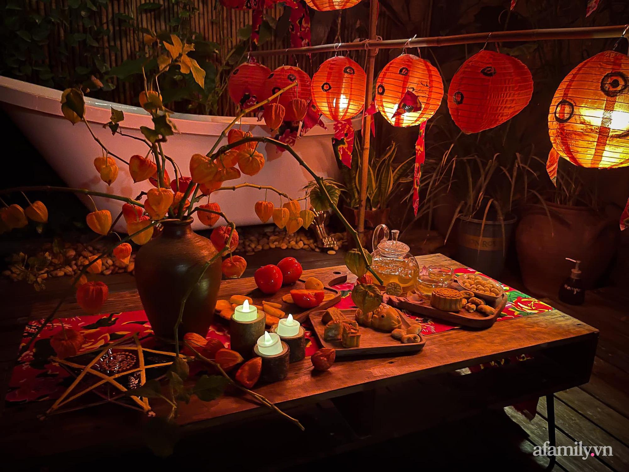 Phòng ngủ lung linh rực rỡ sắc màu Trung thu nhờ bàn tay khéo decor của cô gái Hà Nội - Ảnh 3.