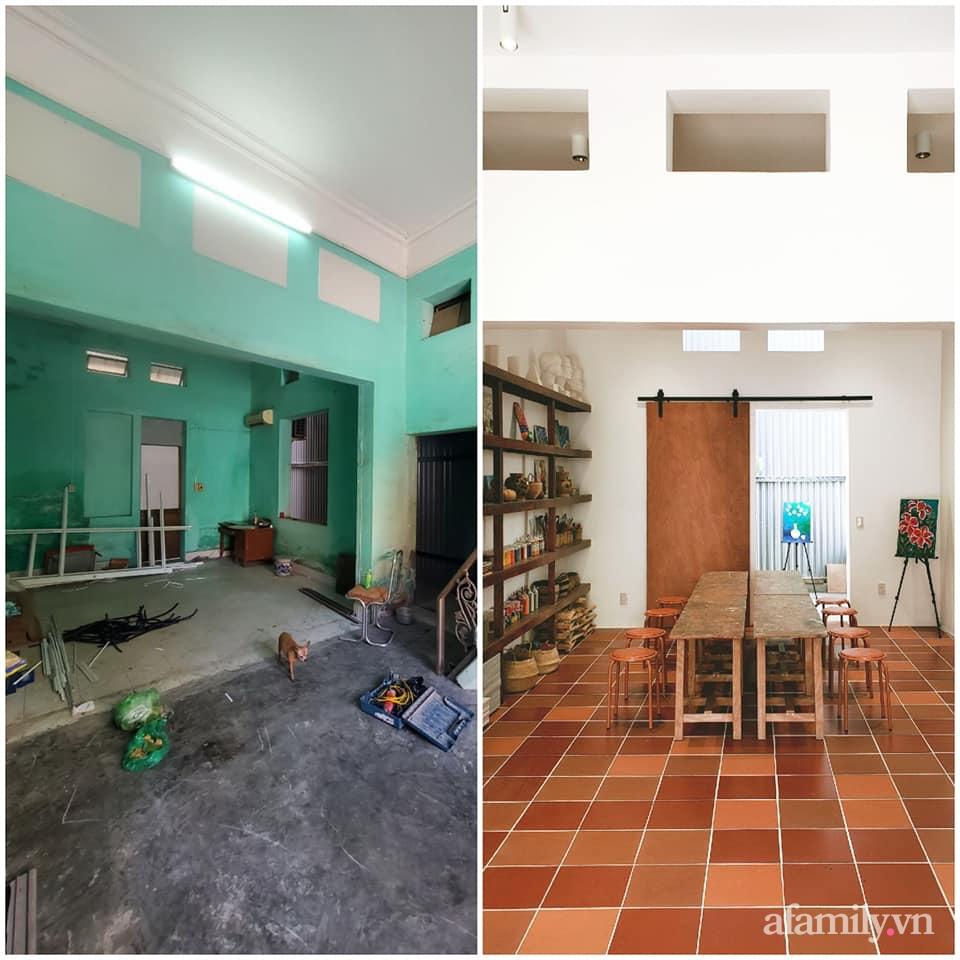 Nhà phố 60m2 cải tạo đẹp không góc chết của vợ chồng giáo viên mỹ thuật ở Hải Phòng - Ảnh 5.