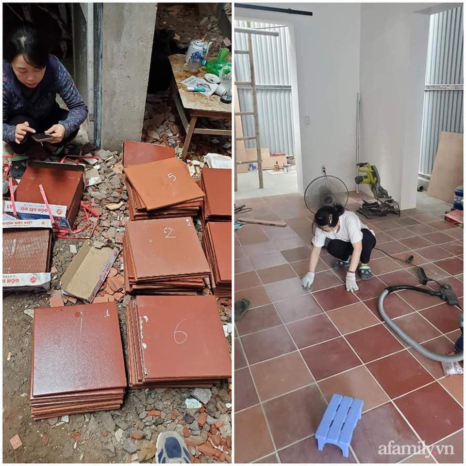 Nhà phố 60m2 cải tạo đẹp không góc chết của vợ chồng giáo viên mỹ thuật ở Hải Phòng - Ảnh 3.