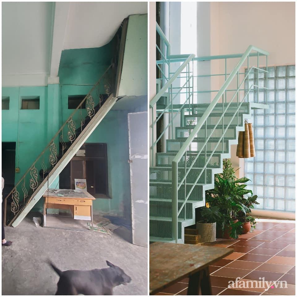 Nhà phố 60m2 cải tạo đẹp không góc chết của vợ chồng giáo viên mỹ thuật ở Hải Phòng - Ảnh 4.