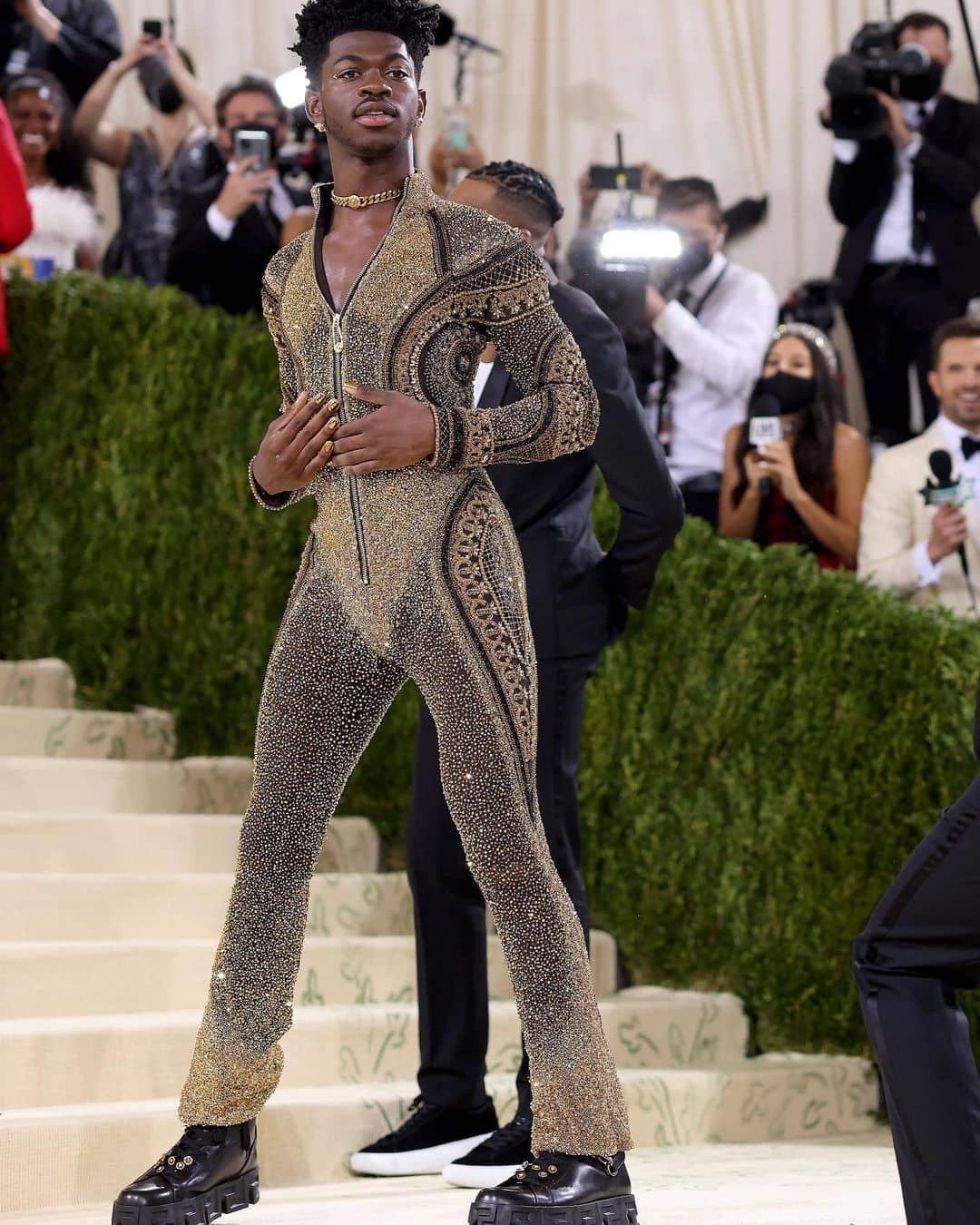"""Met Gala 2021: Vắng mặt dàn """"chị đại"""", cậu cả nhà Beckham và bạn gái tài phiệt lên đồ đẹp mê nhưng nhạt - Ảnh 7."""