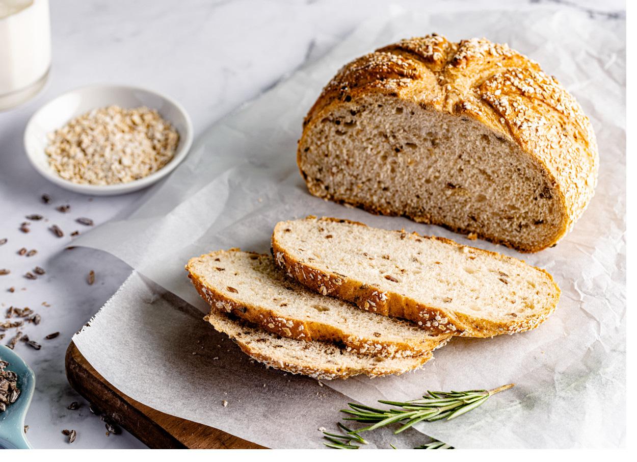 Tăng cường hệ miễn dịch với bánh mì hạt lúa mạch nảy mầm - Ảnh 1.