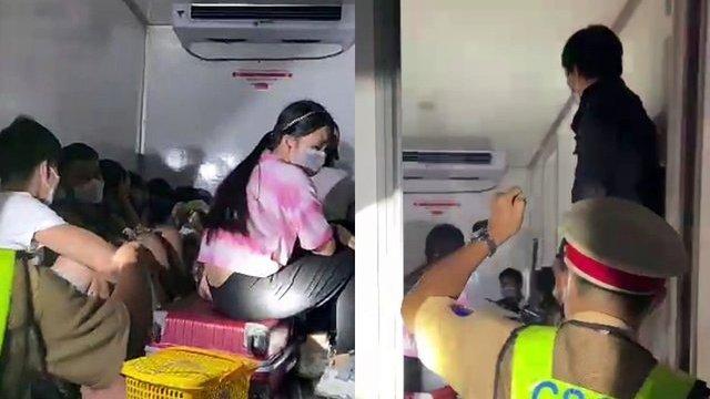 """Vụ """"nhét"""" 15 người trong thùng xe đông lạnh để thông chốt về quê: Dù thương nhưng vẫn phải xử lý nghiêm  - Ảnh 2."""
