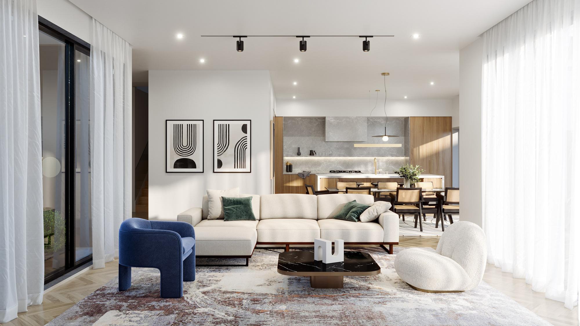 Tư vấn thiết kế nhà cấp 4 diện tích 120m² cho gia đình 6 thành viên chi phí 200 triệu - Ảnh 3.
