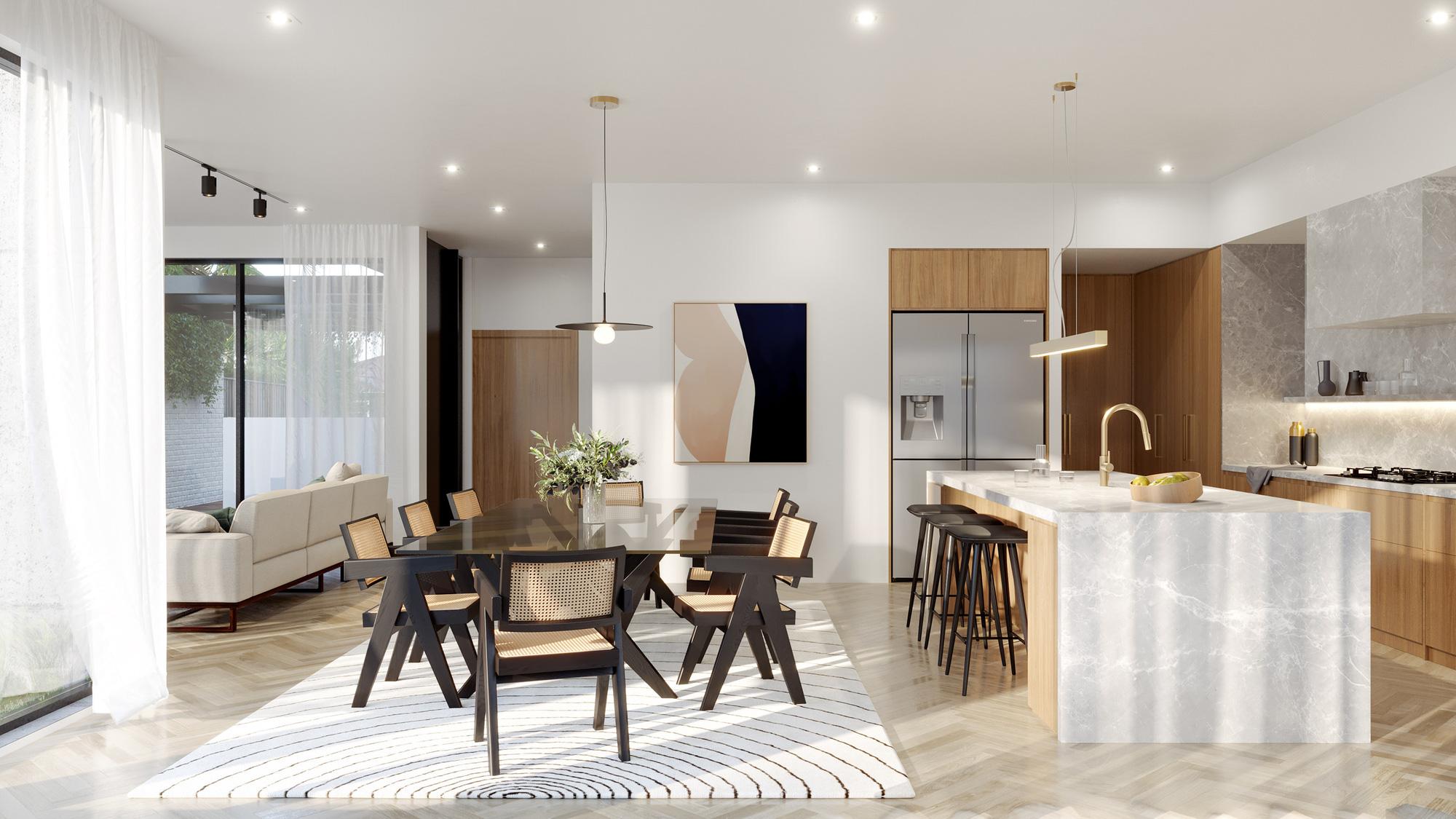 Tư vấn thiết kế nhà cấp 4 diện tích 120m² cho gia đình 6 thành viên chi phí 200 triệu - Ảnh 4.