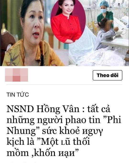 """Hồng Vân lên tiếng về phát ngôn gây tranh cãi: """"Những người phao tin Phi Nhung nguy kịch là khốn nạn"""" - Ảnh 3."""