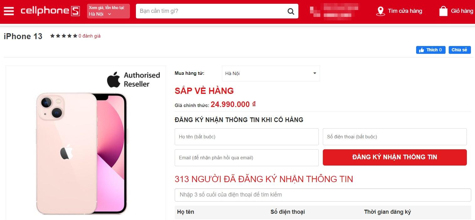 iPhone 13 chưa ra mắt, khách Việt Nam đã săn mua, có cửa hàng chào khách đặt cọc tiền - Ảnh 5.