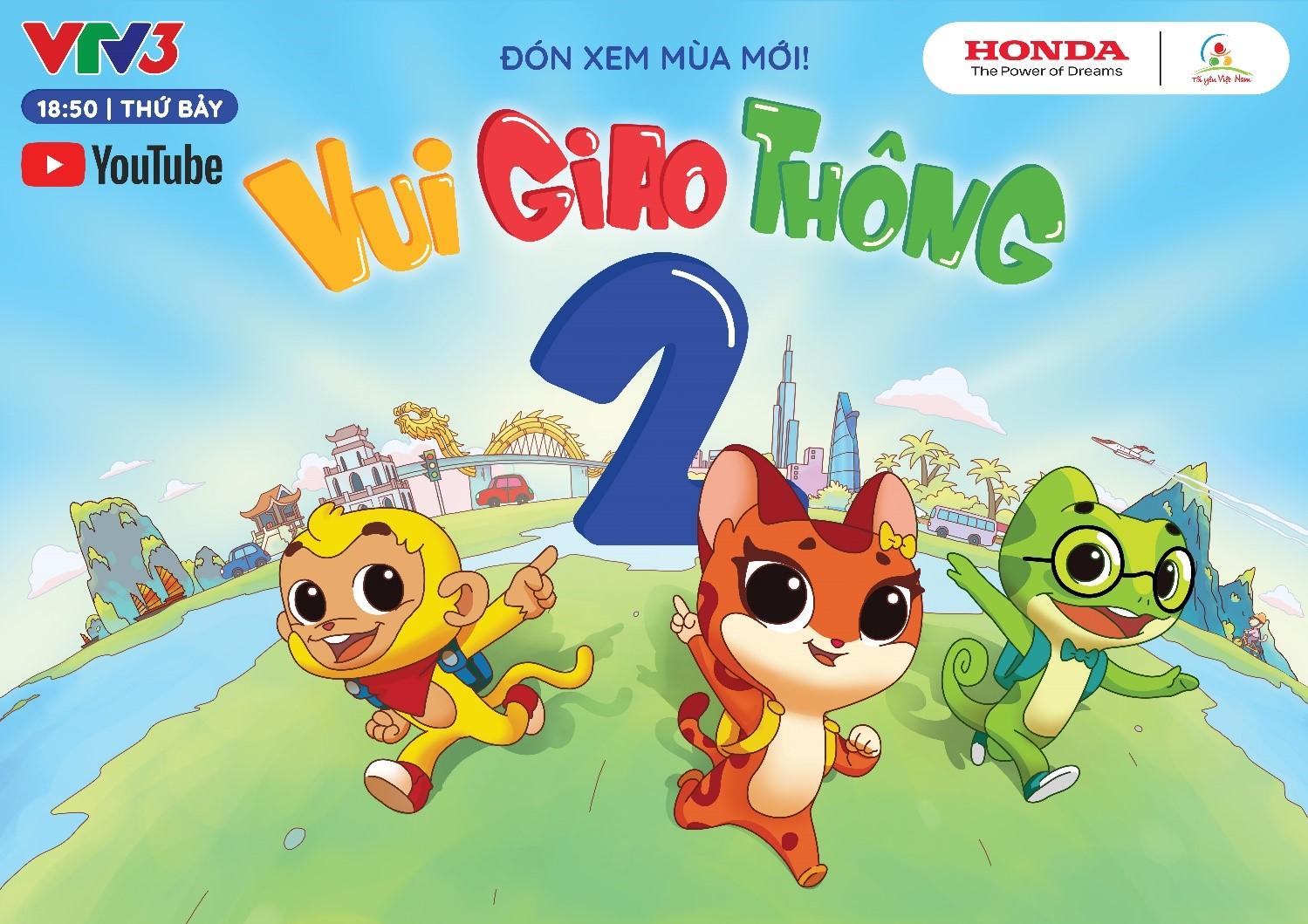 """Chương trình """"Tôi yêu Việt Nam"""" - phiên bản """"Vui giao thông"""" chính thức ra mắt mùa thứ hai - Ảnh 1."""