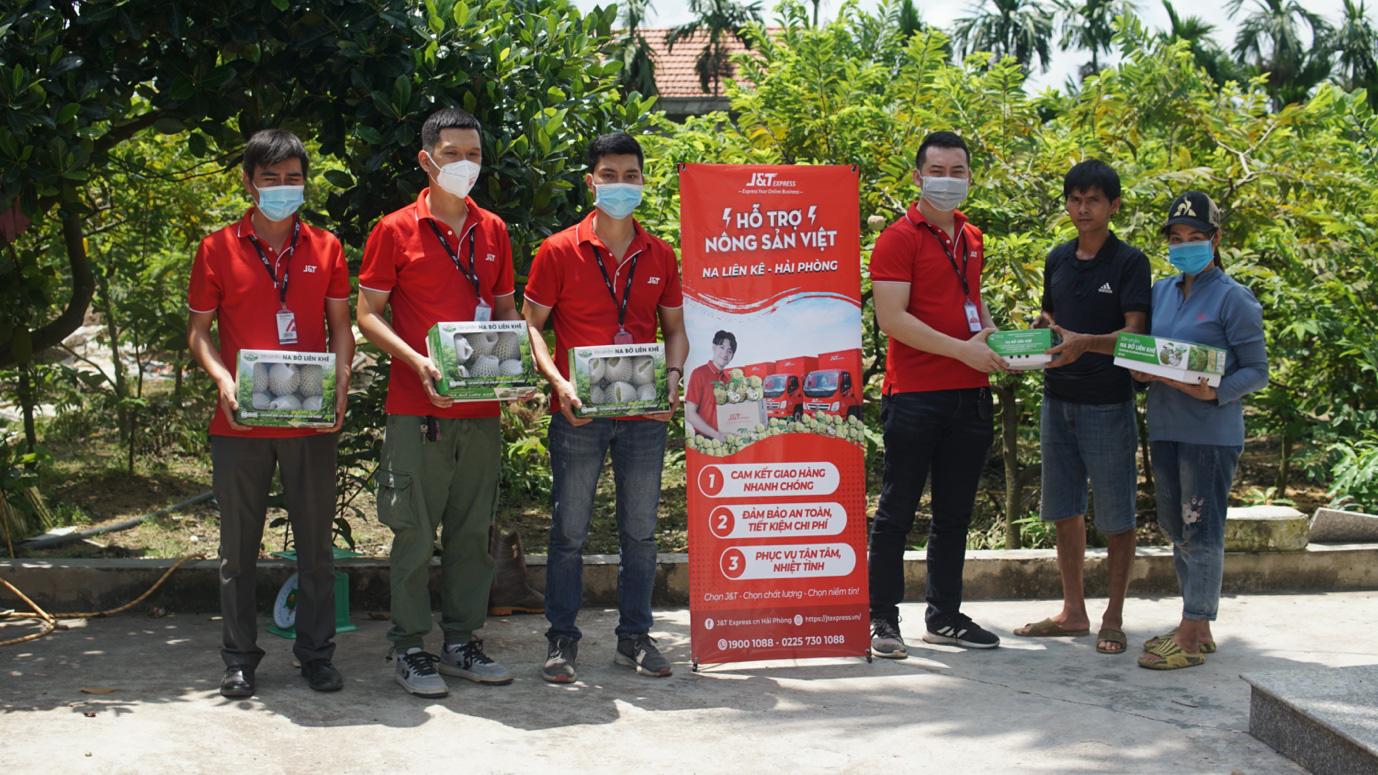 J&T Express nối dài hành trình hỗ trợ tiêu thụ nông sản Việt trong mùa dịch - Ảnh 1.