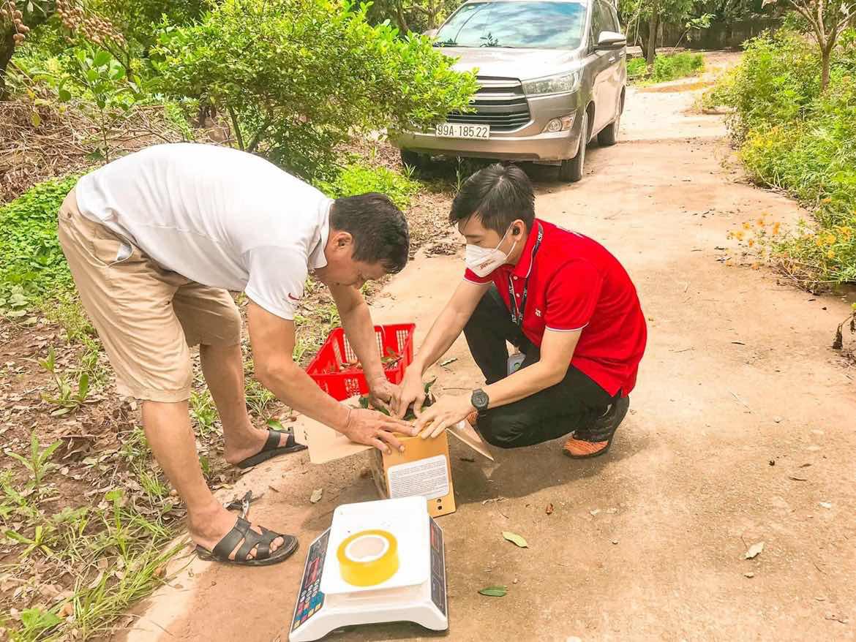 J&T Express nối dài hành trình hỗ trợ tiêu thụ nông sản Việt trong mùa dịch - Ảnh 3.