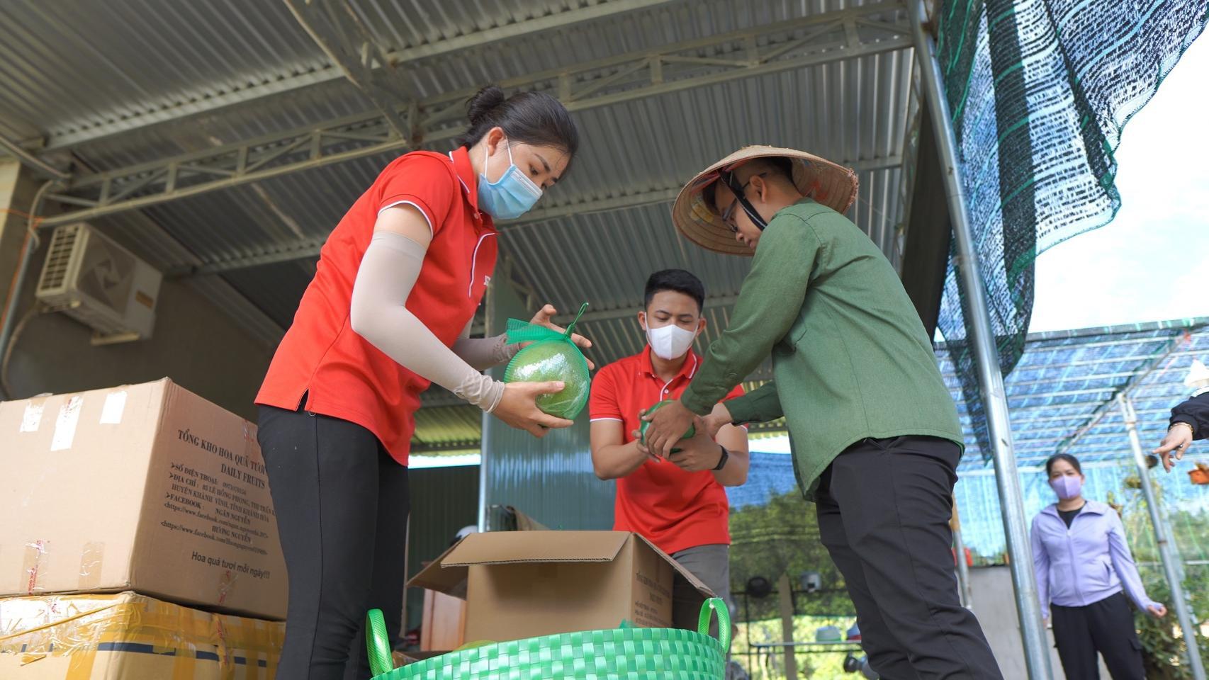 J&T Express nối dài hành trình hỗ trợ tiêu thụ nông sản Việt trong mùa dịch - Ảnh 4.