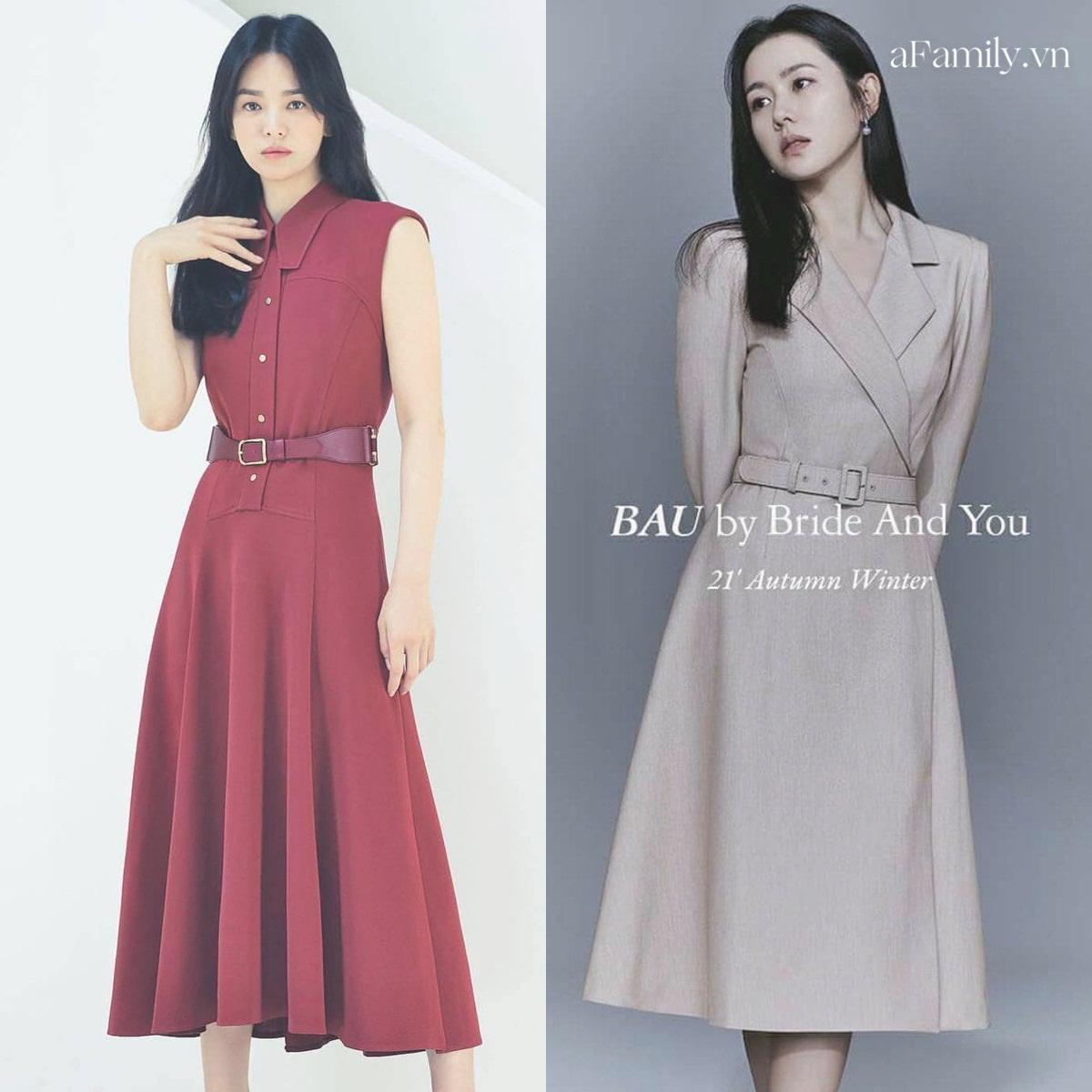 Song Hye Kyo Son Ye Jin làm mẫu đồ công sở Thu Đông - Ảnh 8.