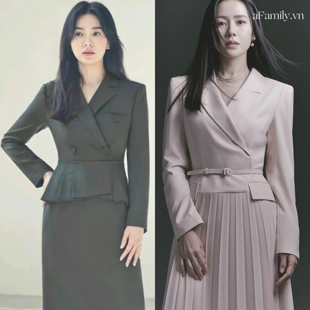 Song Hye Kyo Son Ye Jin làm mẫu đồ công sở Thu Đông - Ảnh 6.