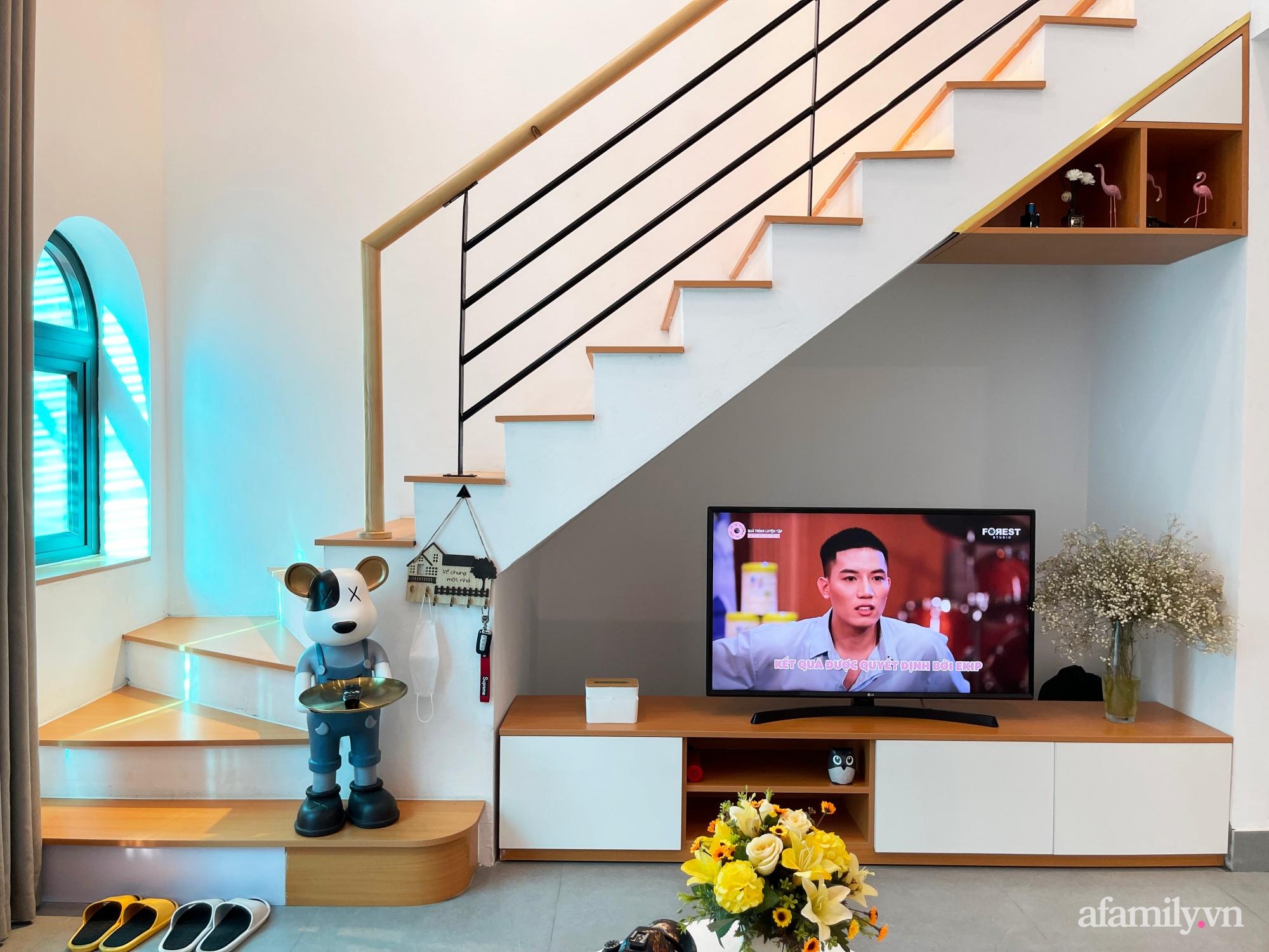 Căn nhà 58m2 được xây dựng đầy đủ chức năng hiện đại của cặp vợ chồng Bắc Ninh có tổng lương 25 triệu/tháng - Ảnh 1.
