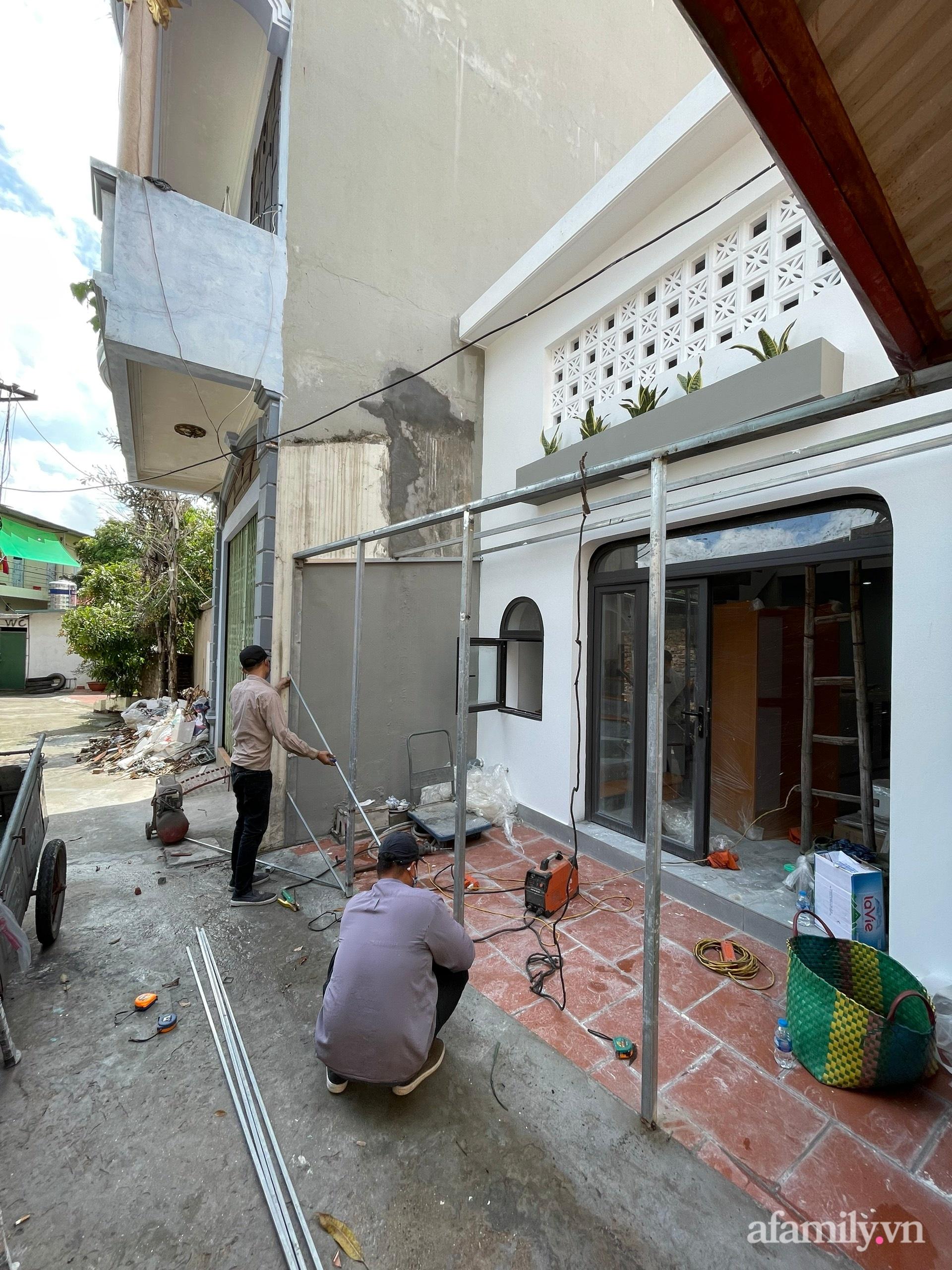 Căn nhà 58m2 được xây dựng đầy đủ chức năng hiện đại của cặp vợ chồng Bắc Ninh có tổng lương 25 triệu/tháng - Ảnh 2.