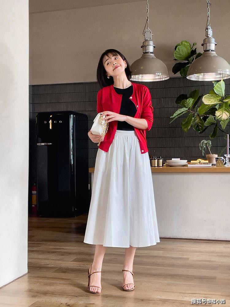 9 cách diện chân váy dài sang xịn mà hội blogger châu Á đang áp dụng nhiệt tình - Ảnh 8.