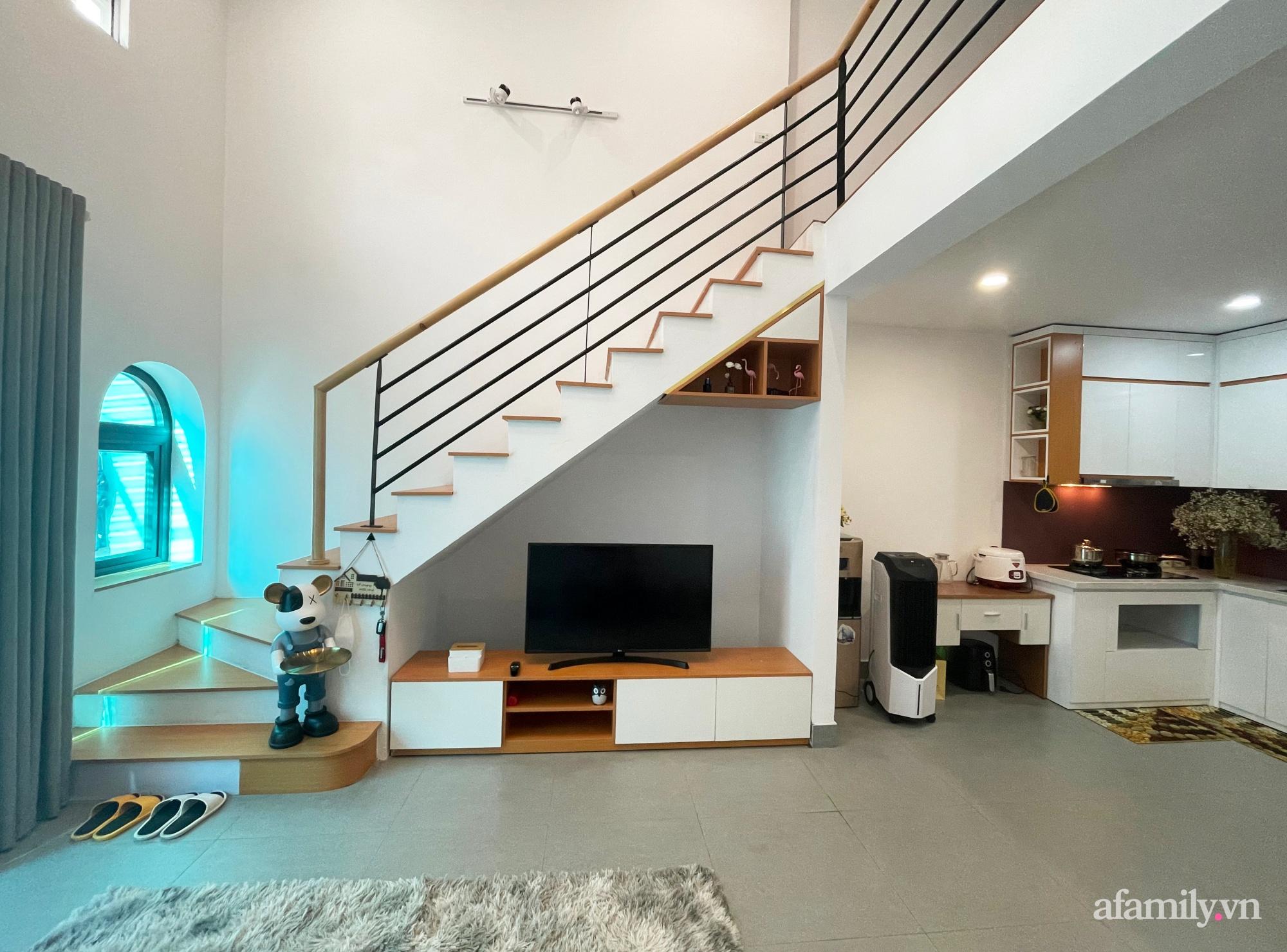 Căn nhà 58m2 được xây dựng đầy đủ chức năng hiện đại của cặp vợ chồng Bắc Ninh có tổng lương 25 triệu/tháng - Ảnh 3.
