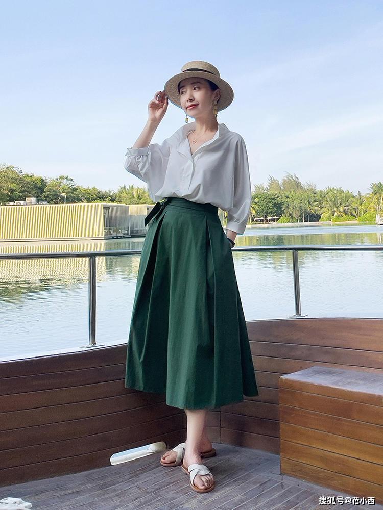 9 cách diện chân váy dài sang xịn mà hội blogger châu Á đang áp dụng nhiệt tình - Ảnh 3.