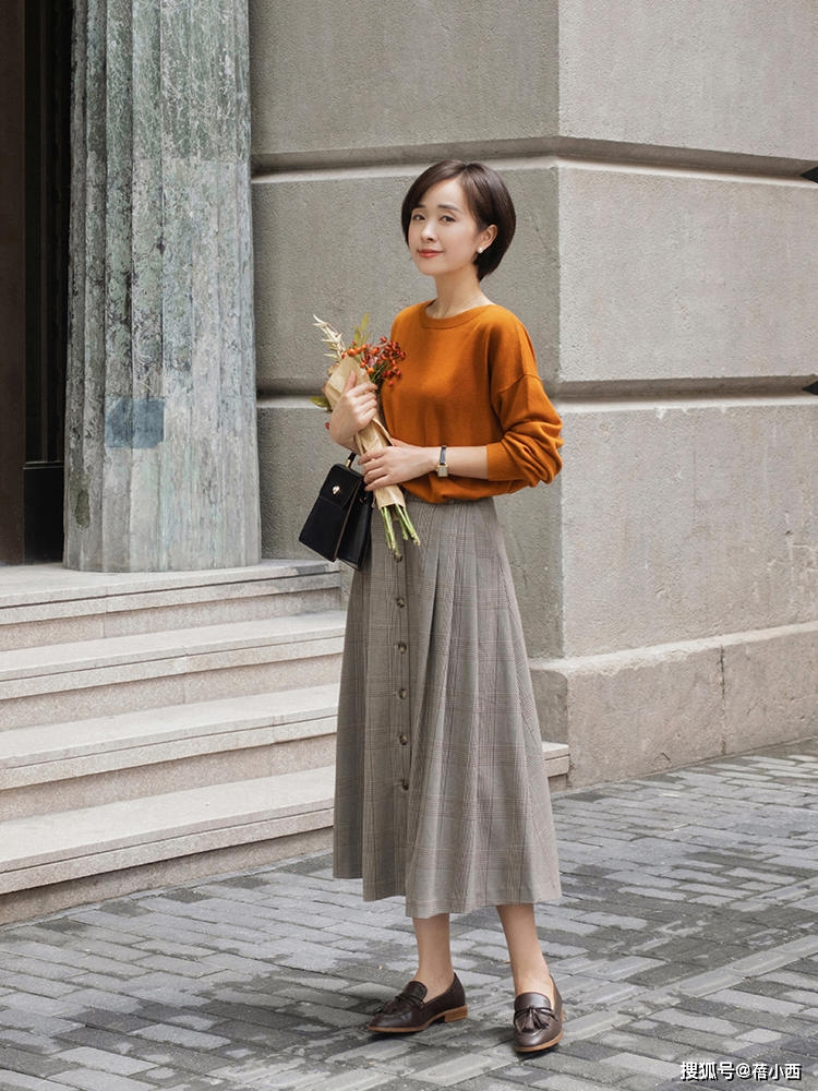 9 cách diện chân váy dài sang xịn mà hội blogger châu Á đang áp dụng nhiệt tình - Ảnh 6.