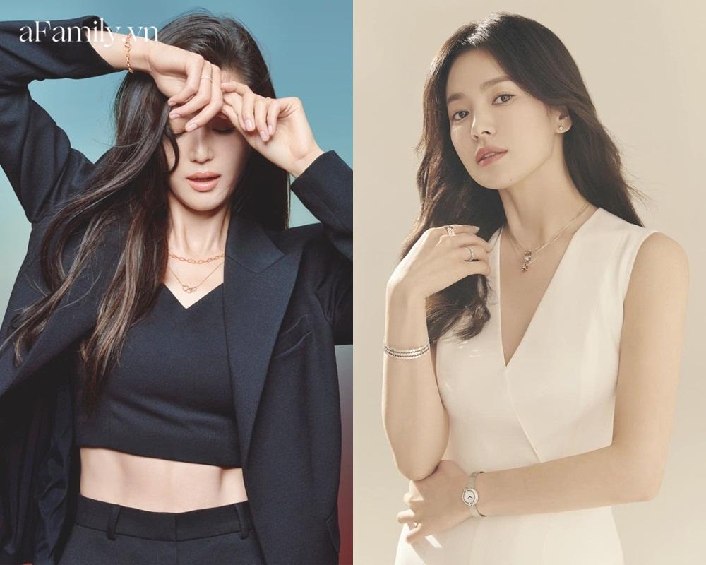 So kè Song Hye Kyo Jeon Ji Hyun khi quảng cáo trang sức: Đẹp đến mê mẩn nhưng ai sang chảnh hơn? - Ảnh 5.