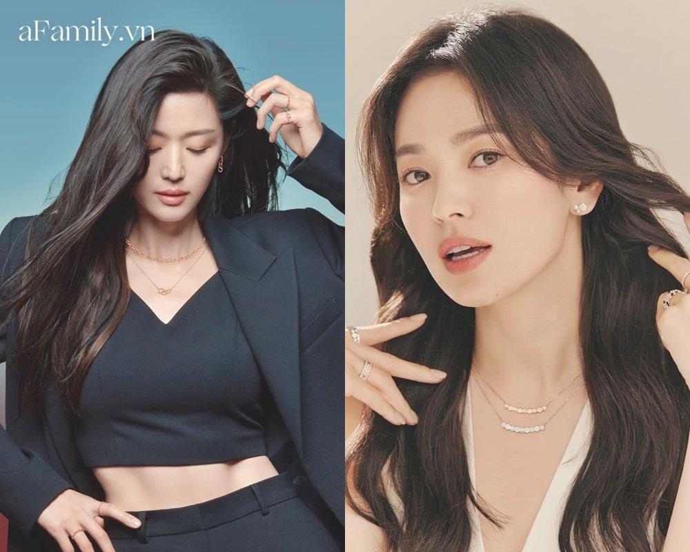 So kè Song Hye Kyo Jeon Ji Hyun khi quảng cáo trang sức: Đẹp đến mê mẩn nhưng ai sang chảnh hơn? - Ảnh 6.