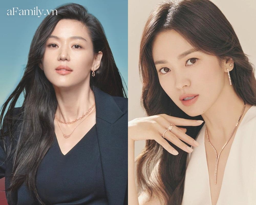 So kè Song Hye Kyo Jeon Ji Hyun khi quảng cáo trang sức: Đẹp đến mê mẩn nhưng ai sang chảnh hơn? - Ảnh 3.