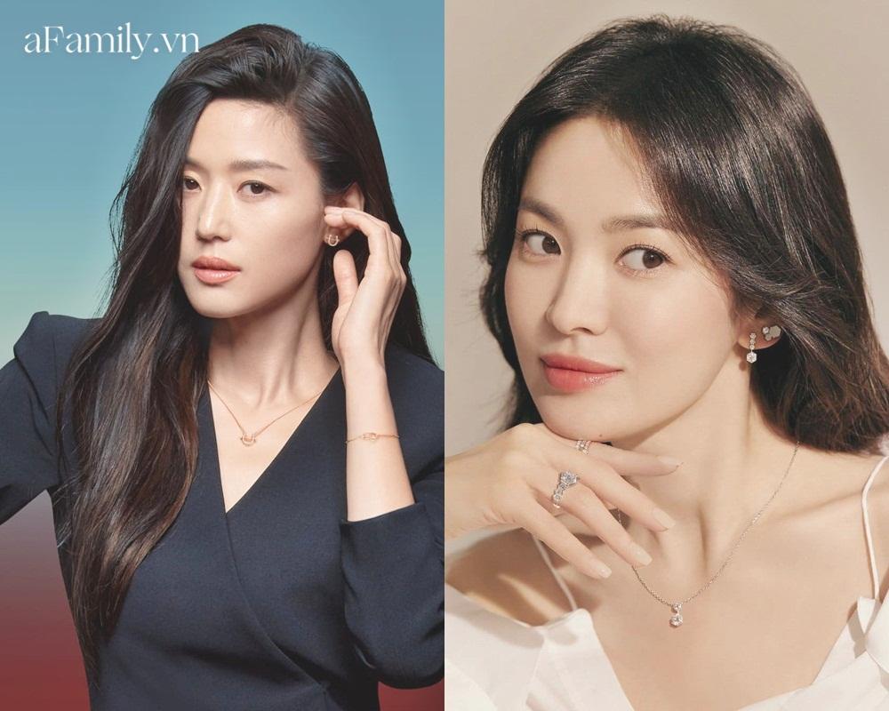 So kè Song Hye Kyo Jeon Ji Hyun khi quảng cáo trang sức: Đẹp đến mê mẩn nhưng ai sang chảnh hơn? - Ảnh 4.