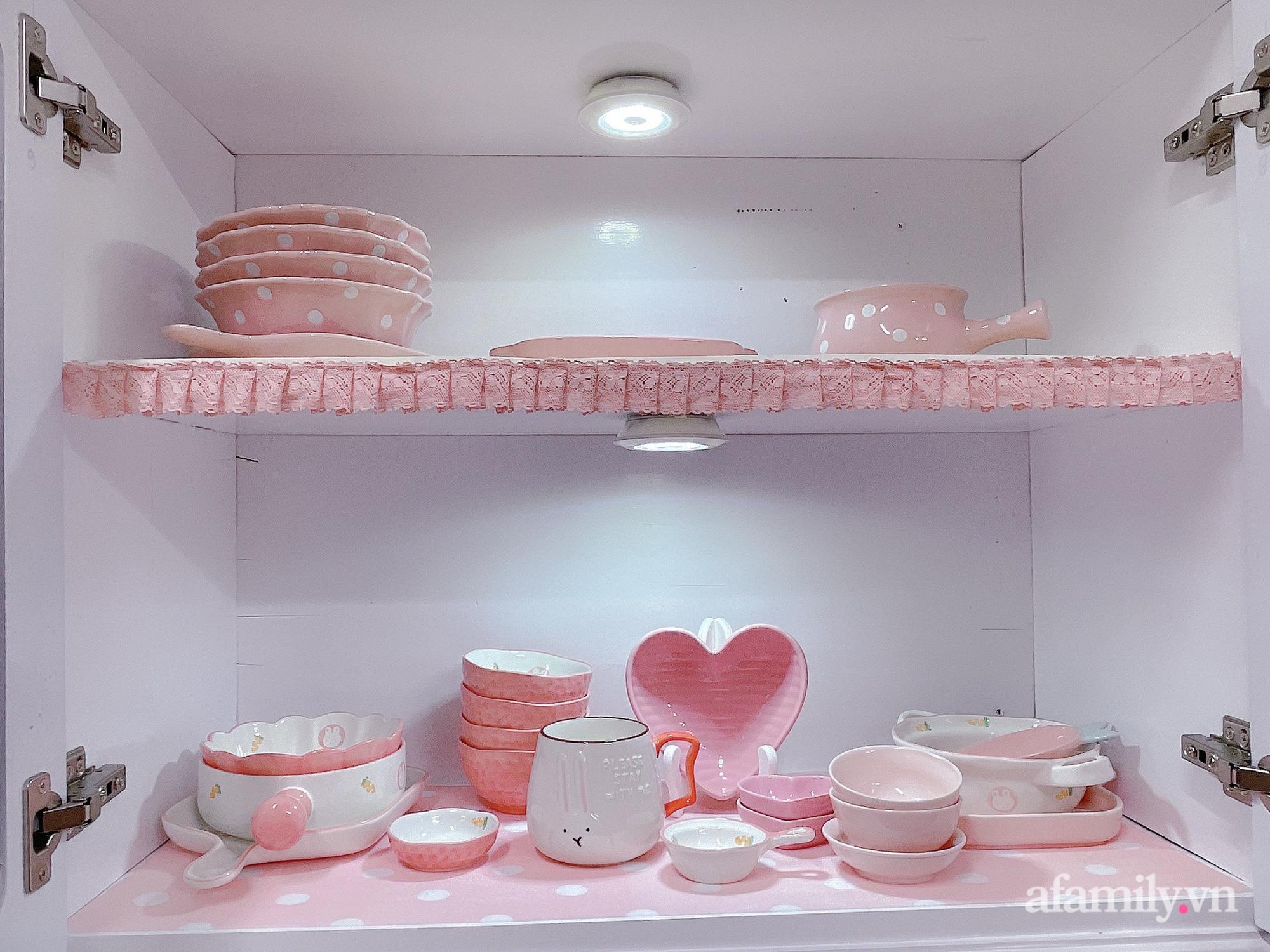 Mẹ trẻ Đà Lạt tự cải tạo căn bếp chật hẹp thành không gian tiện nghi với chi phí rẻ không ngờ - Ảnh 11.