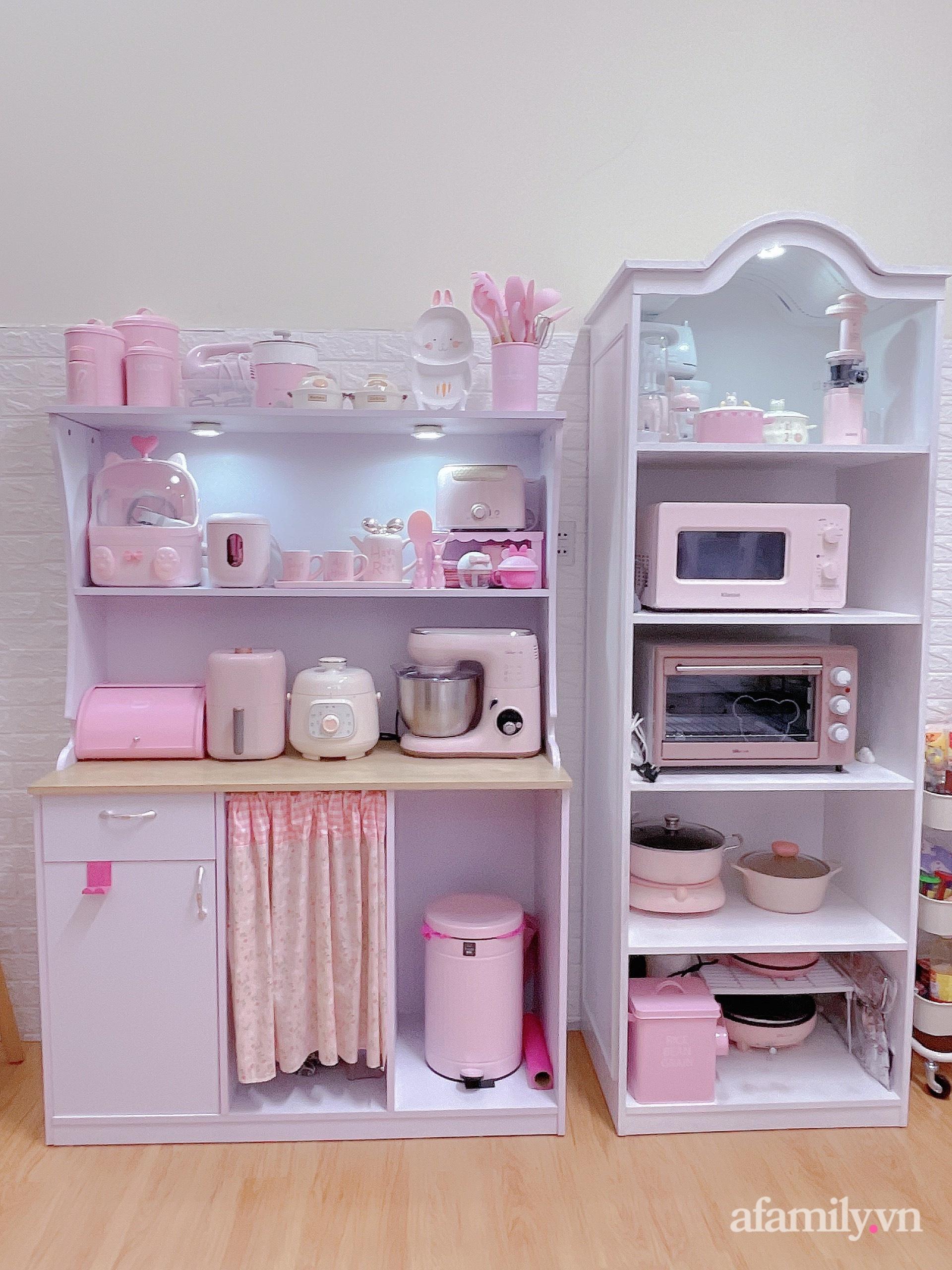 Mẹ trẻ Đà Lạt tự cải tạo căn bếp chật hẹp thành không gian tiện nghi với chi phí rẻ không ngờ - Ảnh 7.