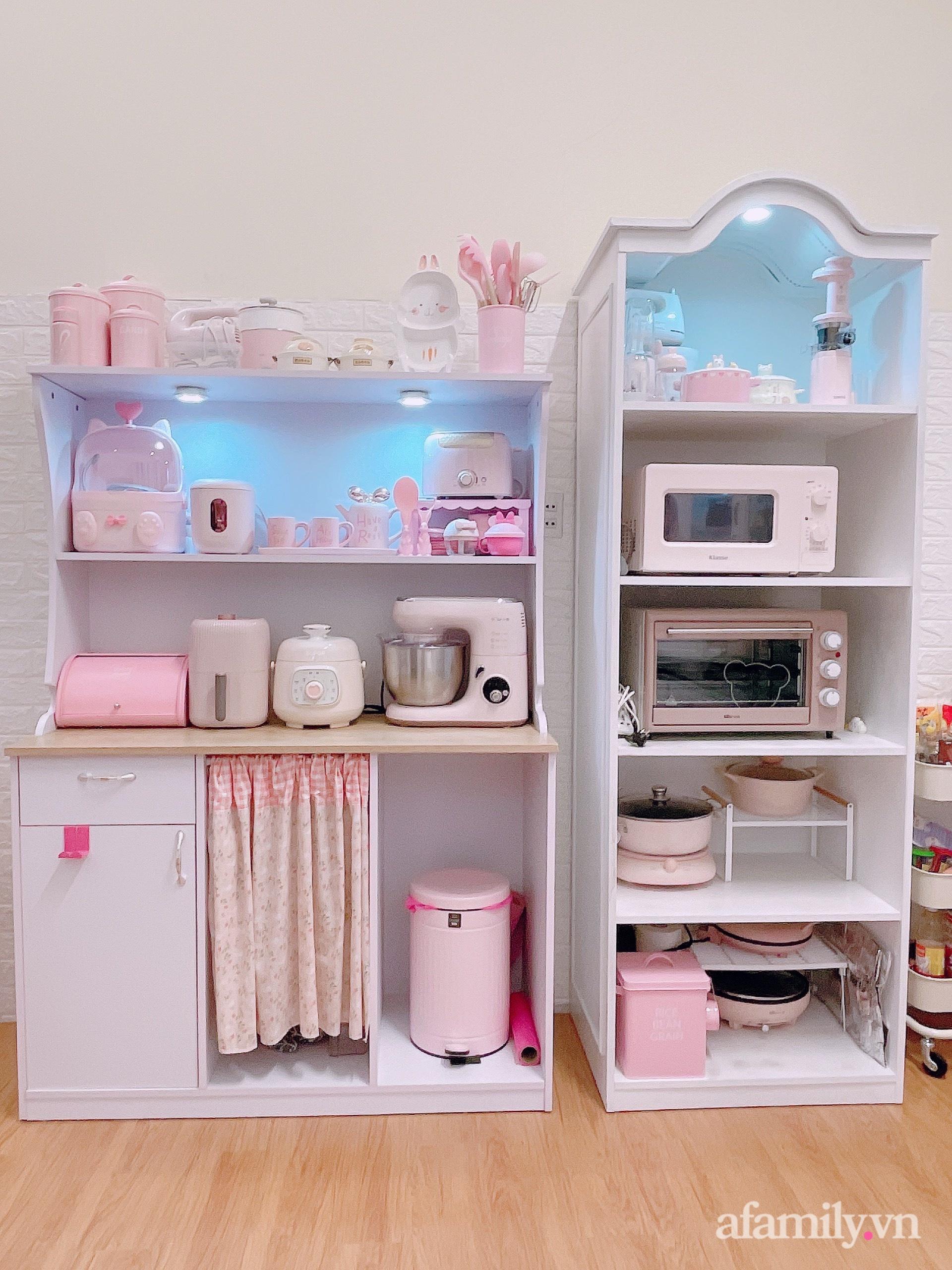 Mẹ trẻ Đà Lạt tự cải tạo căn bếp chật hẹp thành không gian tiện nghi với chi phí rẻ không ngờ - Ảnh 8.