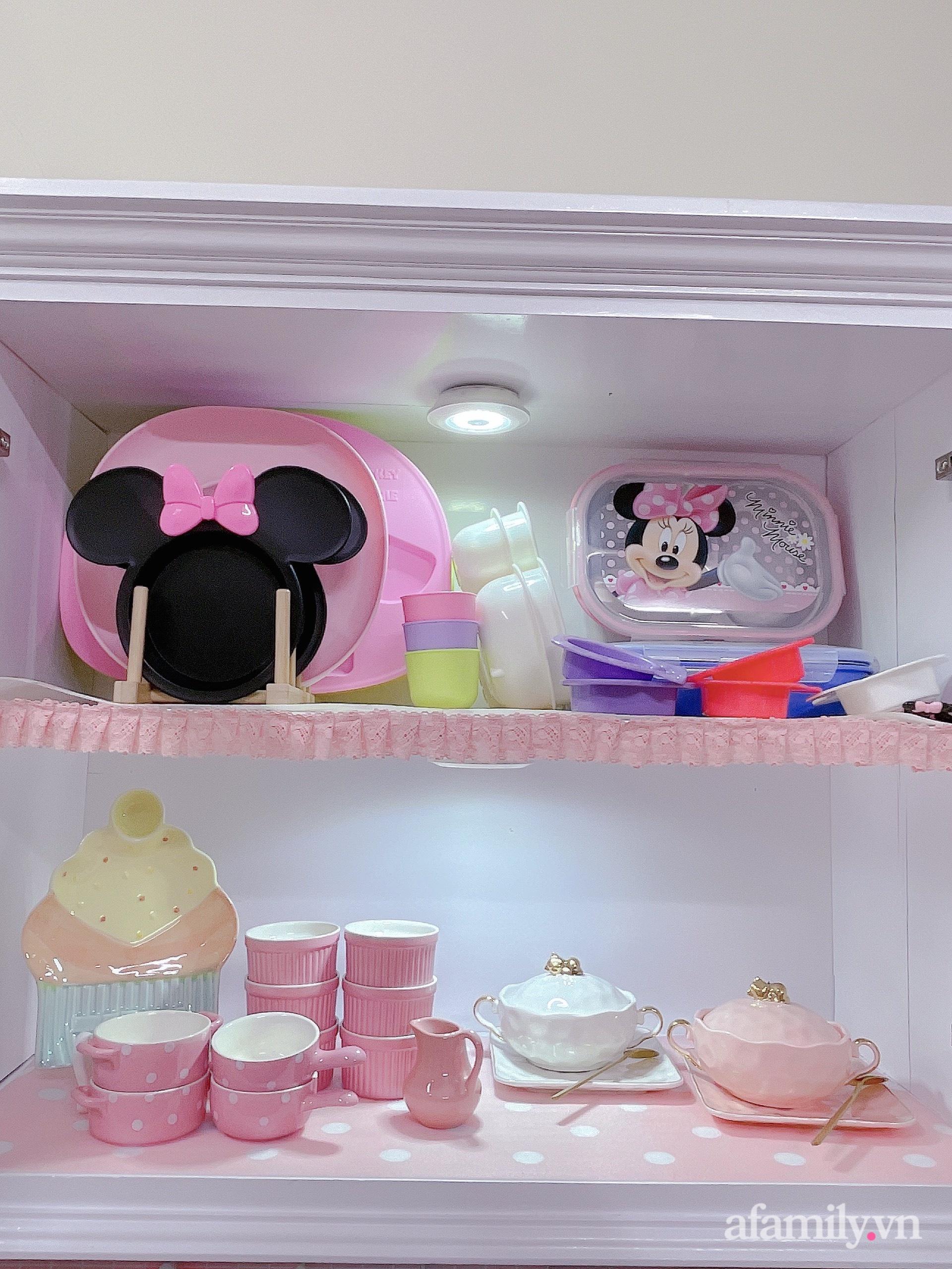 Mẹ trẻ Đà Lạt tự cải tạo căn bếp chật hẹp thành không gian tiện nghi với chi phí rẻ không ngờ - Ảnh 10.