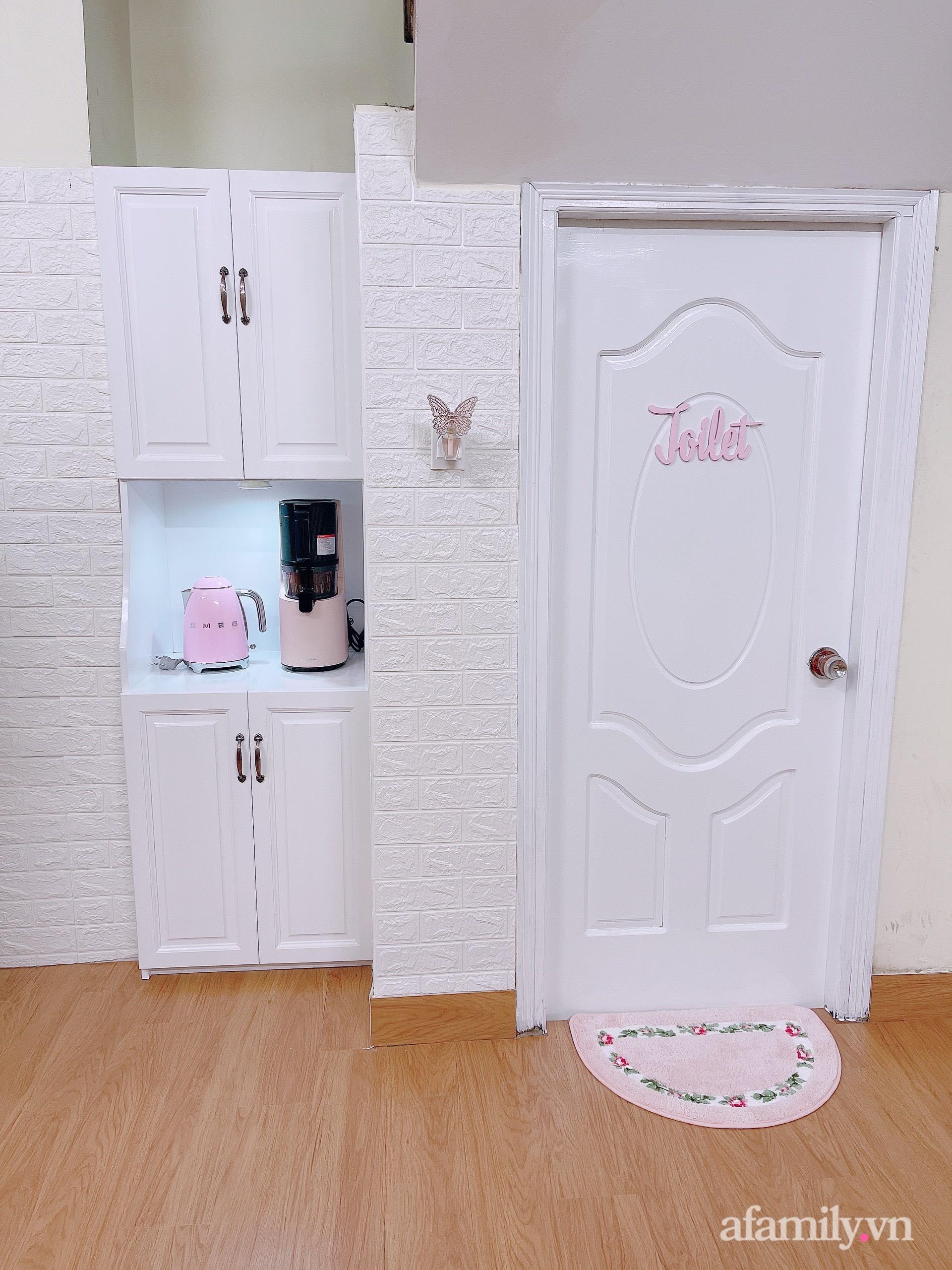 Mẹ trẻ Đà Lạt tự cải tạo căn bếp chật hẹp thành không gian tiện nghi với chi phí rẻ không ngờ - Ảnh 6.