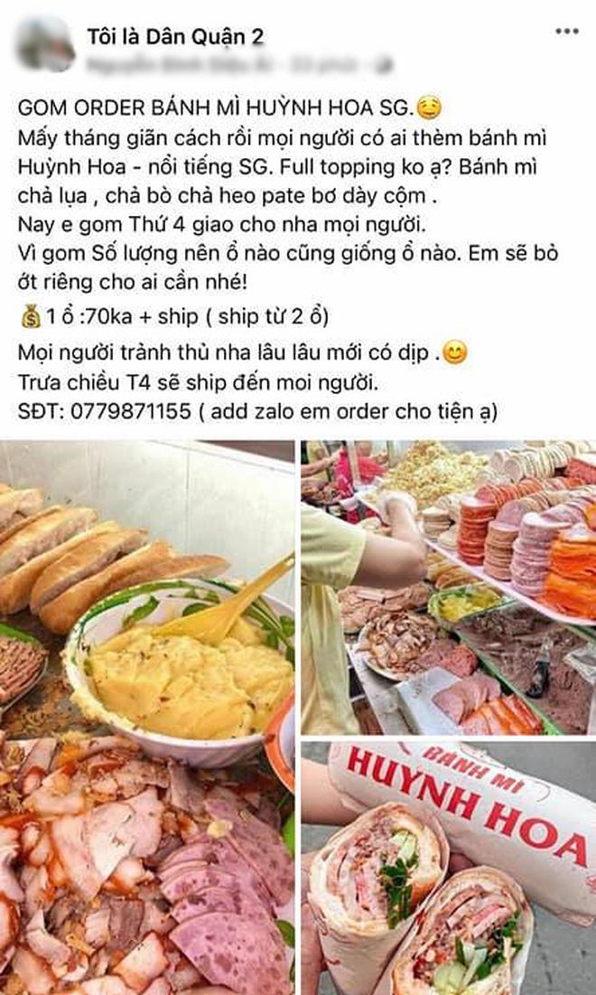 """Đã tìm ra hàng bánh mì """"chơi lớn"""" nhất Sài Gòn mùa dịch: Ship hàng bằng taxi, giá gom đơn tận 75k⁄ổ! - Ảnh 2."""