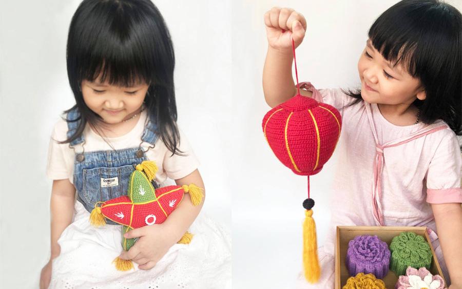 Tết Trung thu mùa giãn cách, mẹ đảm Hà Nội  làm điều chưa từng có để tặng 2 con