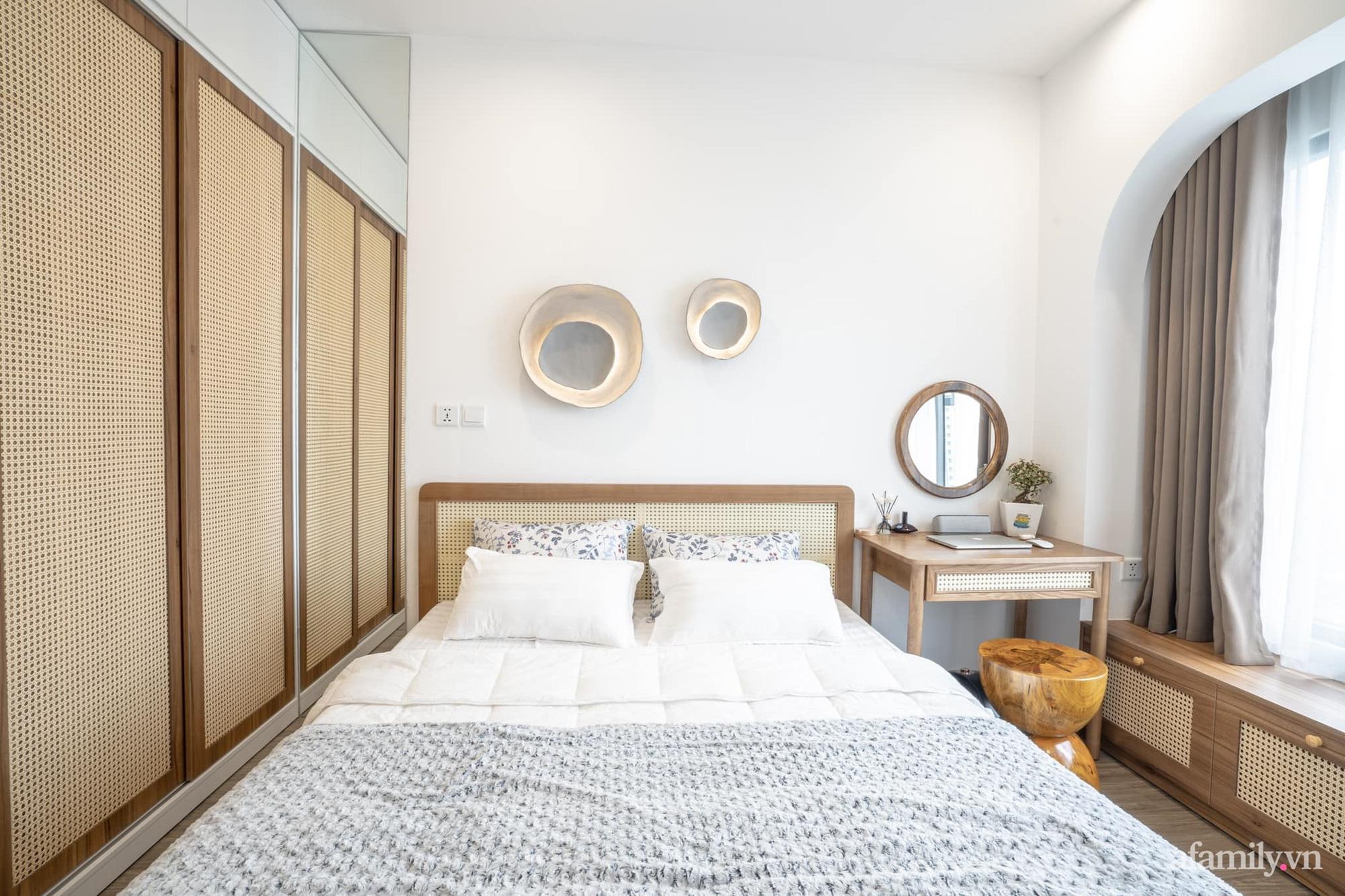 Căn hộ 54m² với nội thất tối giản theo tone vàng nâu đẹp đến từng centimet của cô nàng độc thân tại Hà Nội - Ảnh 10.