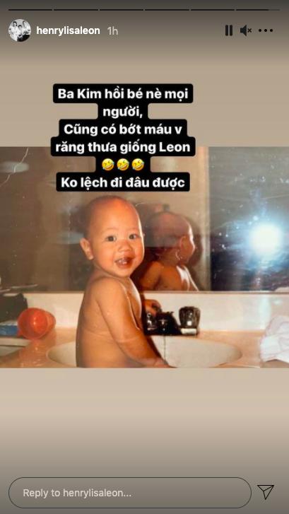 Hồ Ngọc Hà khoe ảnh Kim Lý hồi nhỏ, còn chỉ ra chi tiết Leon cực kỳ giống bố   - Ảnh 2.