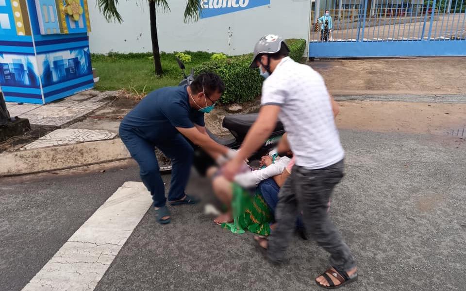Bình Dương: Đang đi họp chống dịch, Giám đốc Trung tâm Y tế lao xuống đỡ đẻ cho sản phụ giữa đường