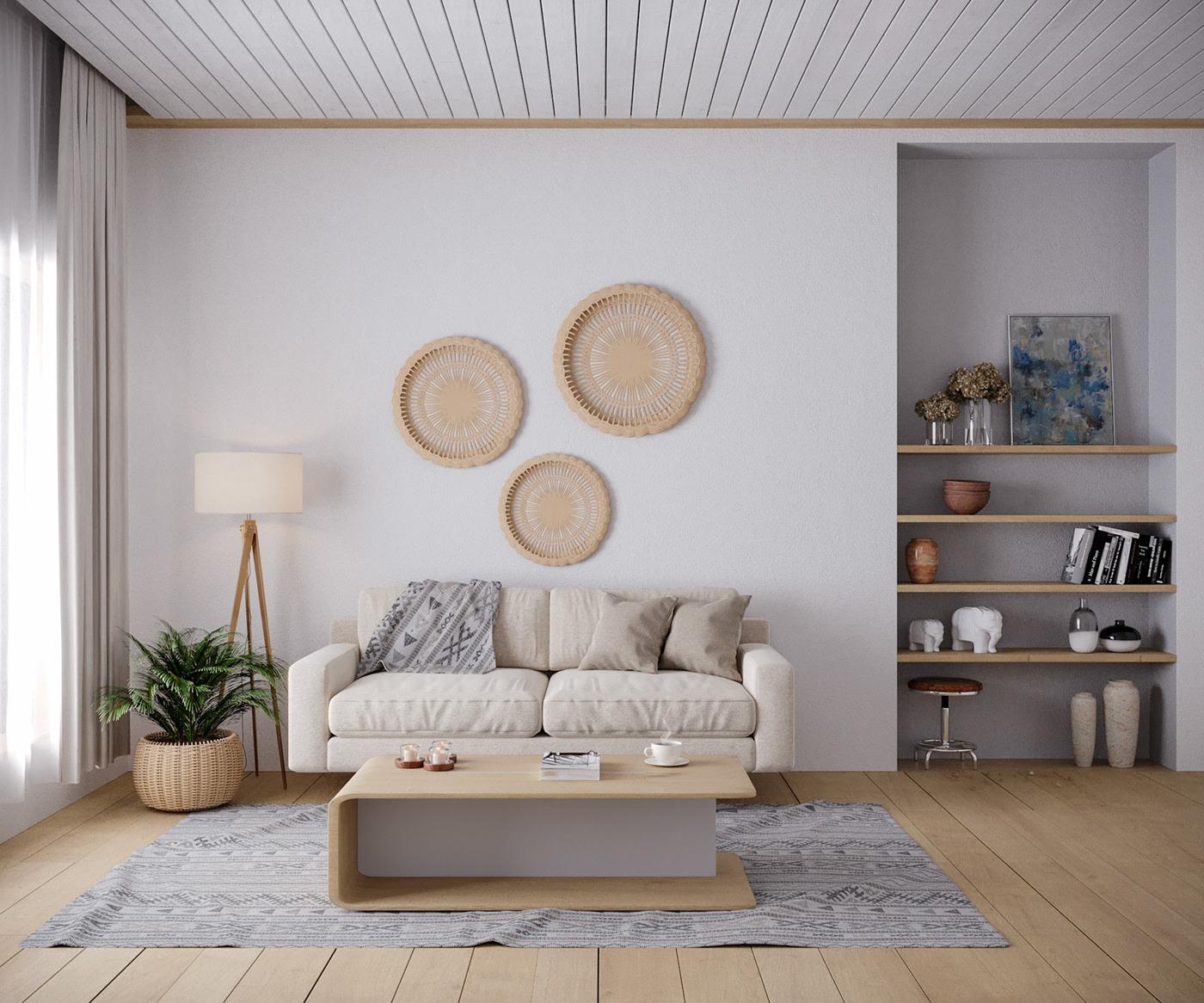 Kiến trúc sư tư vấn thiết kế căn hộ 67m² dành cho cô gái độc thân chi phí 98,3 triệu đồng  - Ảnh 3.