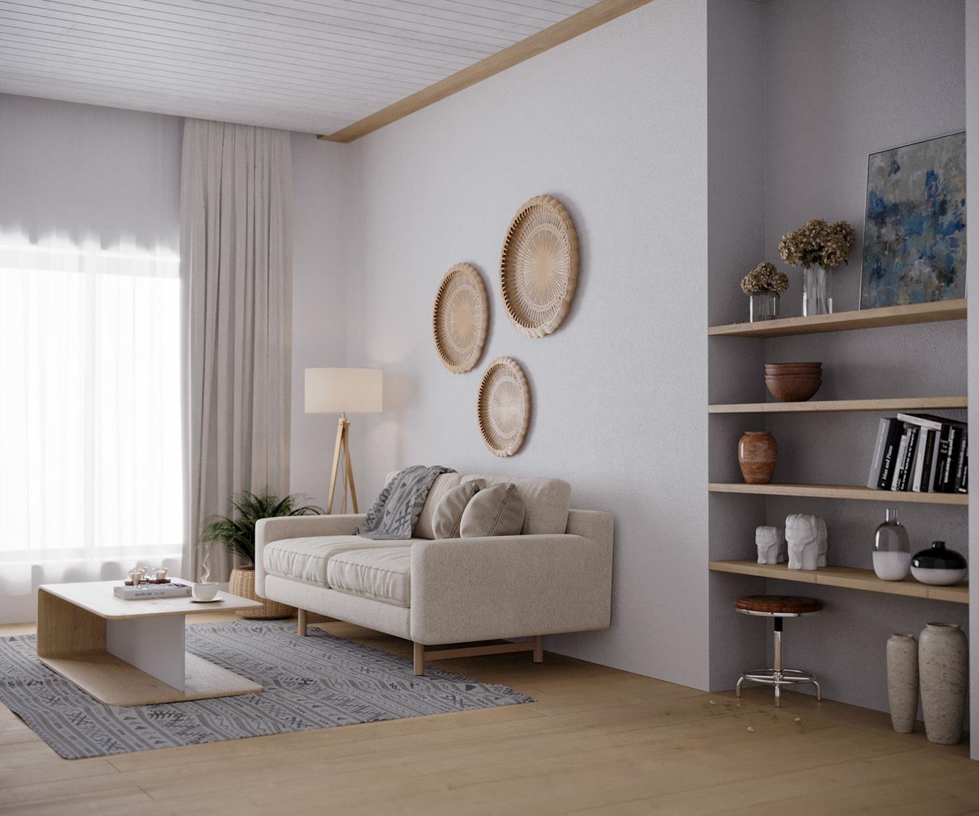 Kiến trúc sư tư vấn thiết kế căn hộ 67m² dành cho cô gái độc thân chi phí 98,3 triệu đồng  - Ảnh 4.