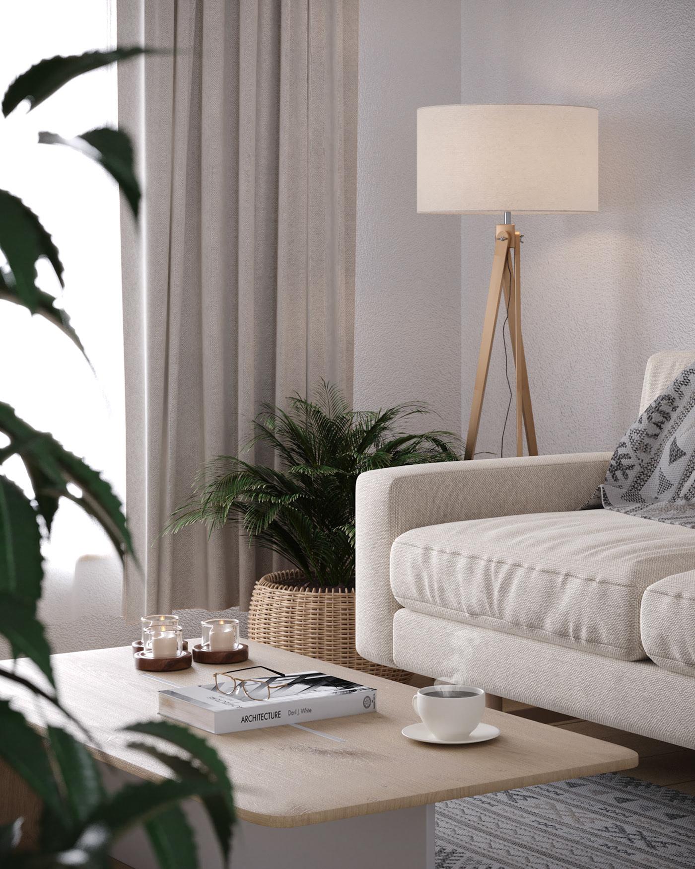 Kiến trúc sư tư vấn thiết kế căn hộ 67m² dành cho cô gái độc thân chi phí 98,3 triệu đồng  - Ảnh 5.