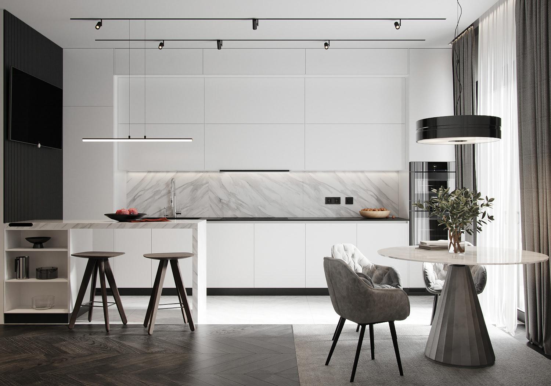 Kiến trúc sư tư vấn thiết kế căn hộ 67m² dành cho cô gái độc thân chi phí 98,3 triệu đồng  - Ảnh 6.