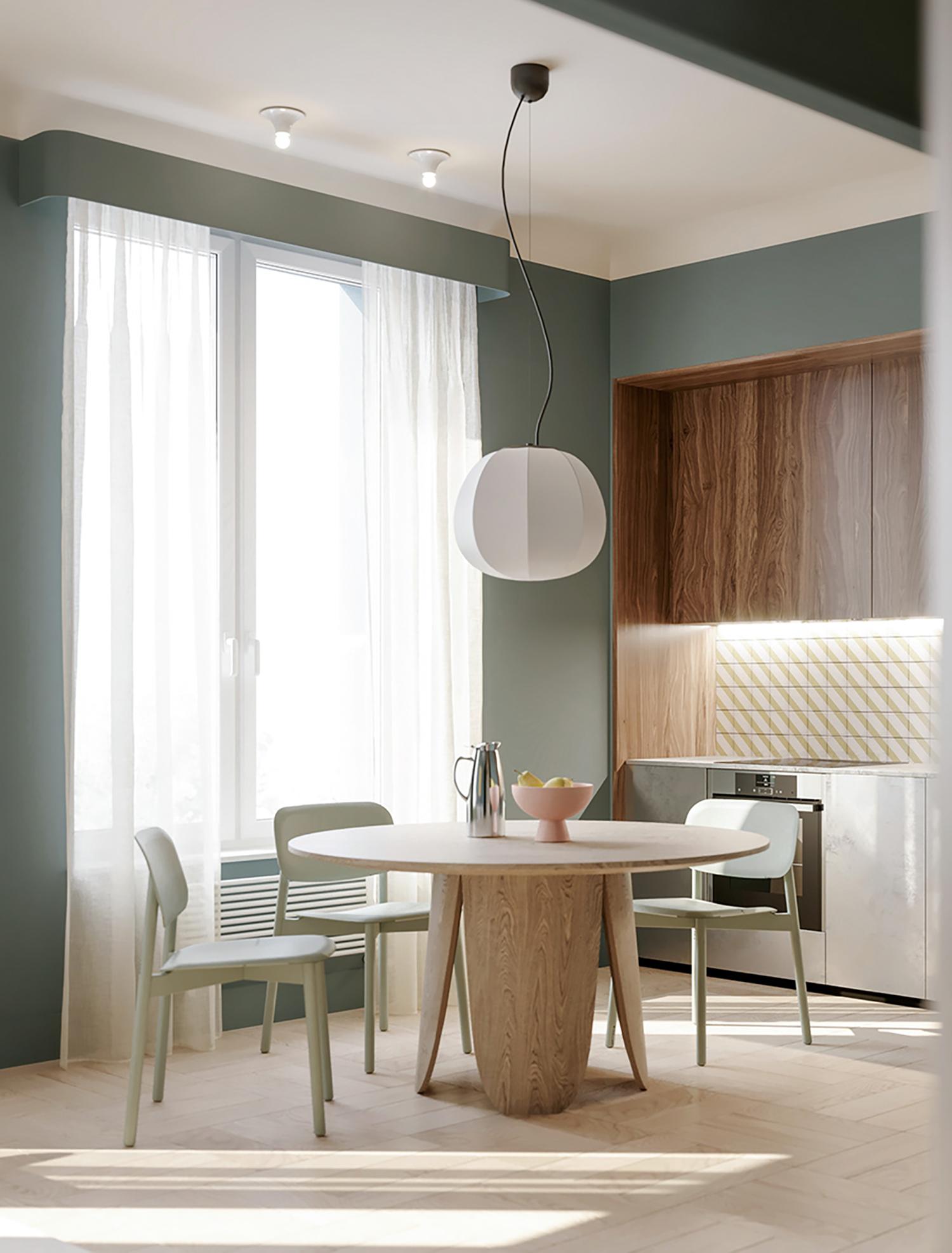 Kiến trúc sư tư vấn thiết kế căn hộ 67m² dành cho cô gái độc thân chi phí 98,3 triệu đồng  - Ảnh 7.