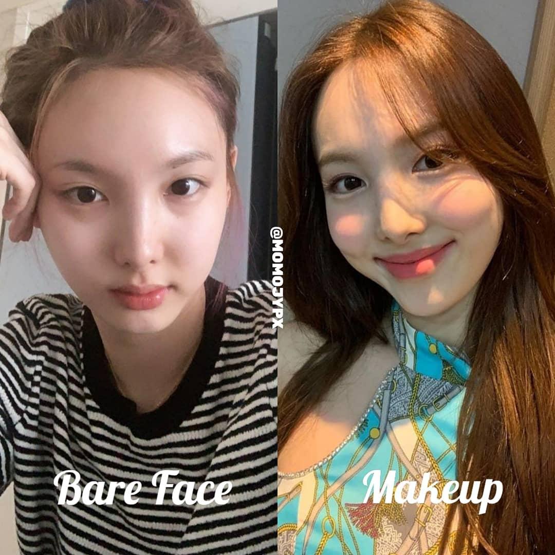 Twice mặt mộc Twice khi rũ bỏ lớp son phấn: Tzuyu kém sắc hẳn, Sana xinh mê nhưng vẫn lộ khuyết điểm - Ảnh 1.
