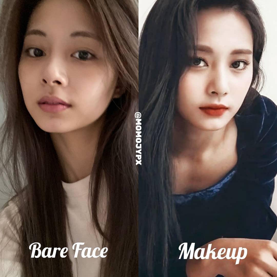 Twice mặt mộc Twice khi rũ bỏ lớp son phấn: Tzuyu kém sắc hẳn, Sana xinh mê nhưng vẫn lộ khuyết điểm - Ảnh 2.