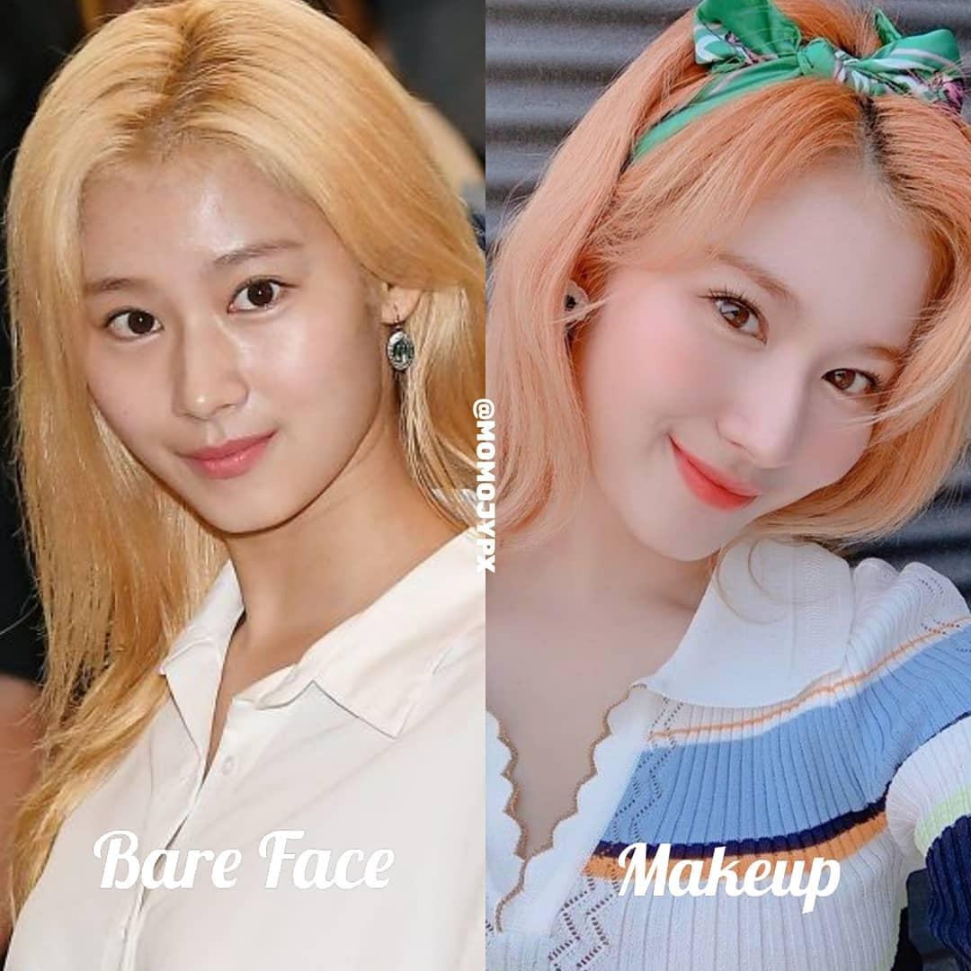 Twice mặt mộc Twice khi rũ bỏ lớp son phấn: Tzuyu kém sắc hẳn, Sana xinh mê nhưng vẫn lộ khuyết điểm - Ảnh 3.